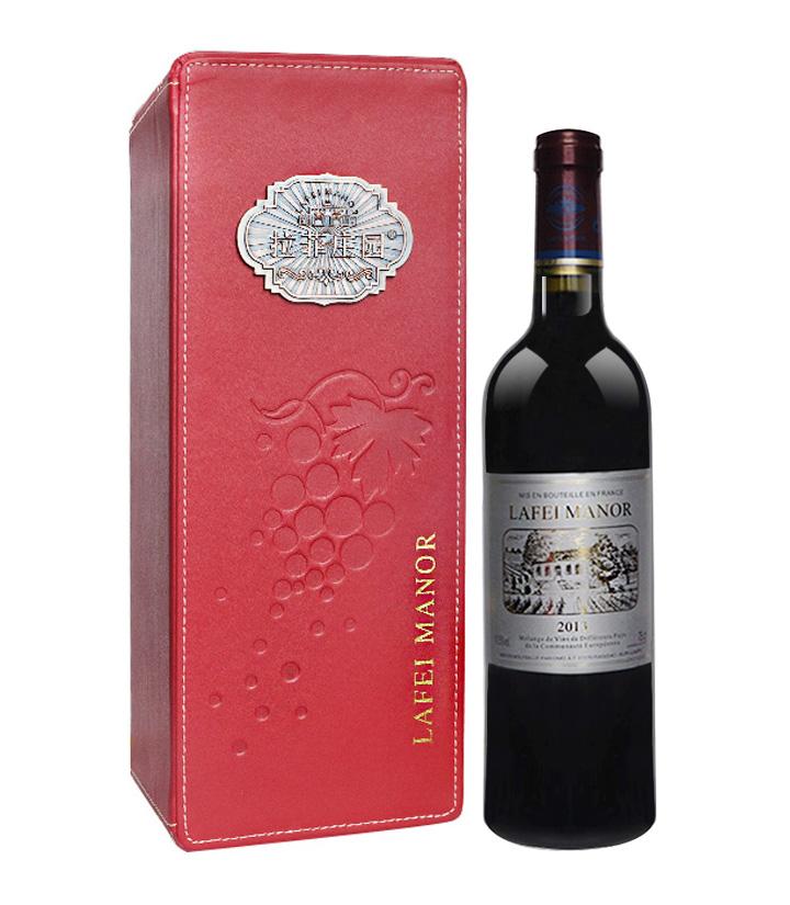 11.5°法国拉菲庄园2013马凯思尼干红葡萄酒(皮盒)750ml