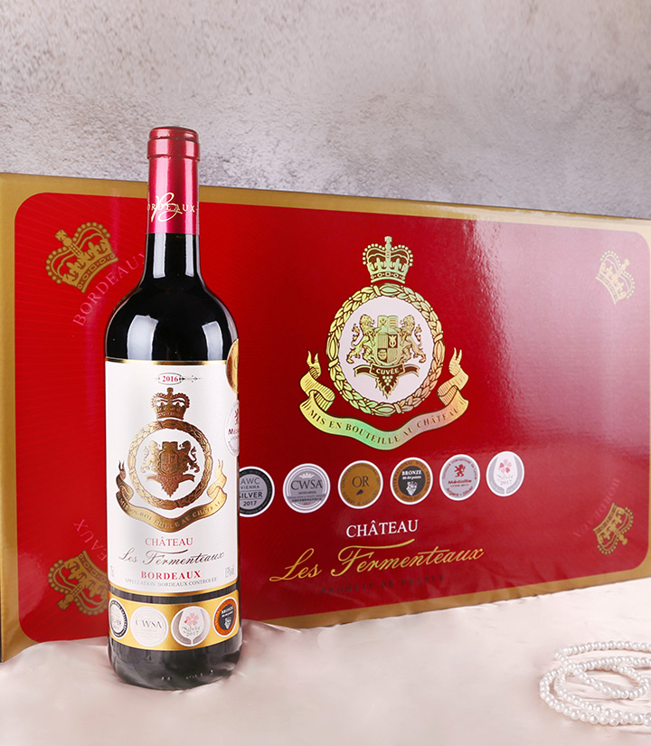 13°法国流芳城堡红葡萄酒750ml