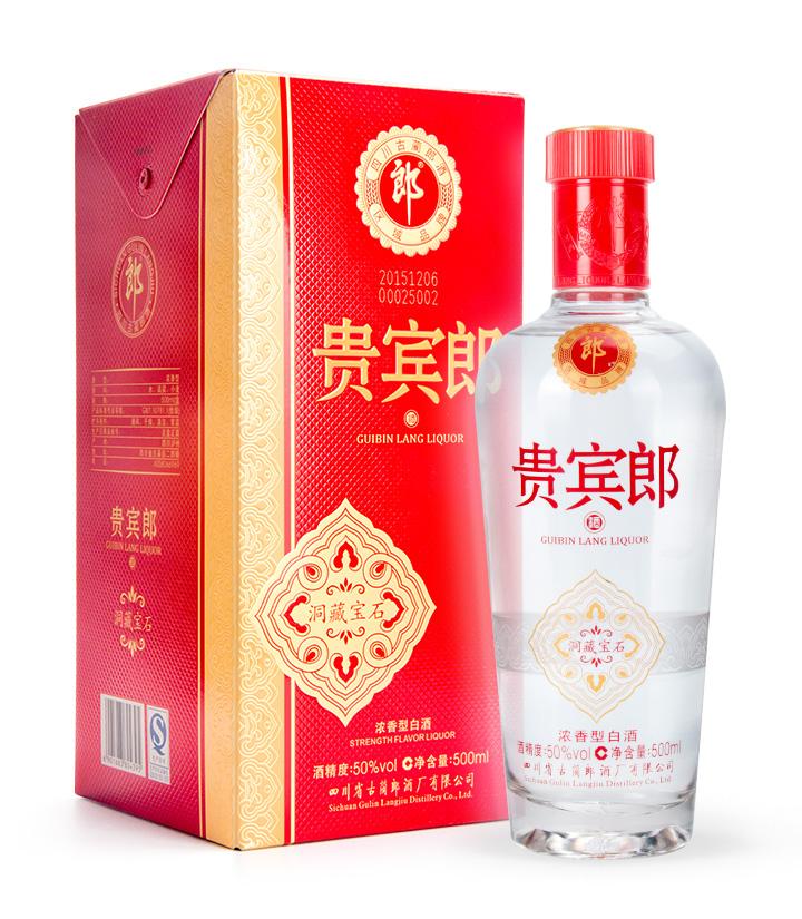 50°郎酒贵宾郎洞藏宝石500ml 瓶