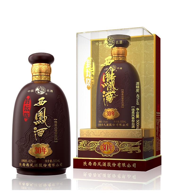 45°西凤酒封坛30年 500ml  瓶