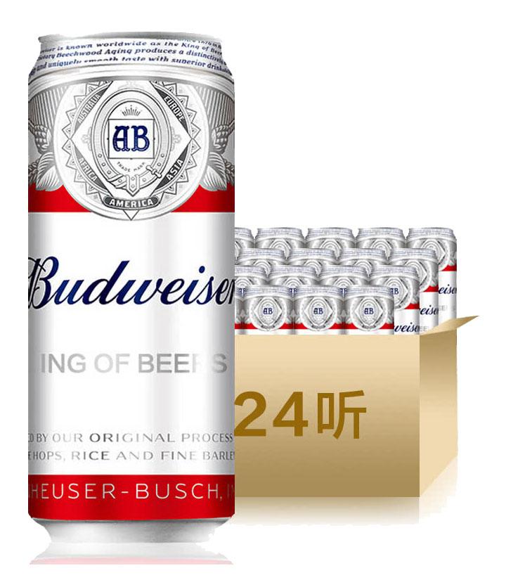 美国百威(布维尔)啤酒听装500ml 瓶